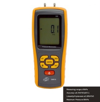 ME-GM510 Pressure Meter (Manometer) Measuring Range:±10kPa